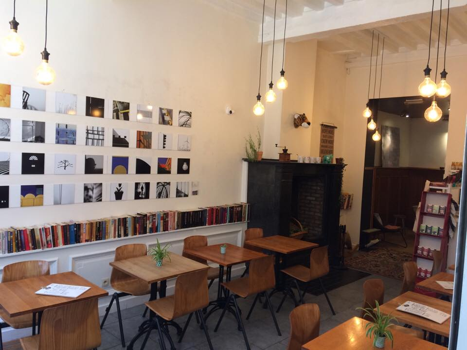 Koffiehuis (vegan concept) over te nemen centrum Antwerpen |